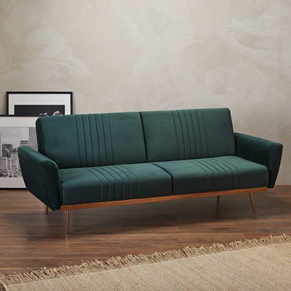 Nico Green Sofa Bed