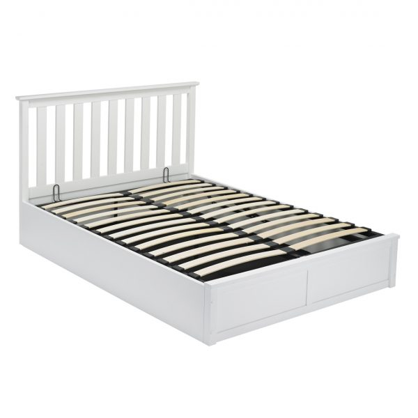 Oxford Double Bed White