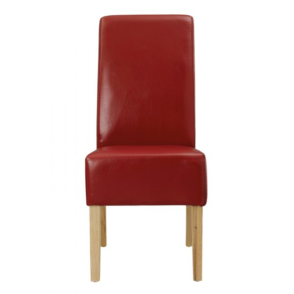 Padstow Chair Red (Pack of 2 )