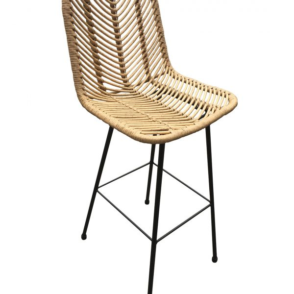 Rafferty Wooden Barstool