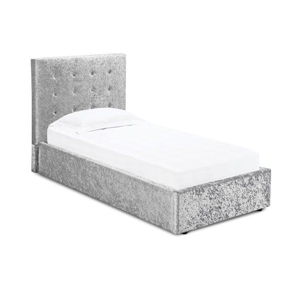 Rimini 3.0 Single Bed Silver