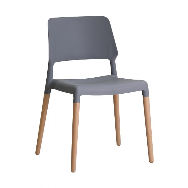 Riva Chair Grey (Pack of 2)