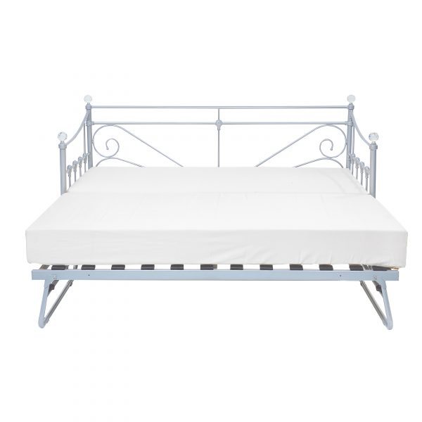 Sienna Trundle Bed Silver