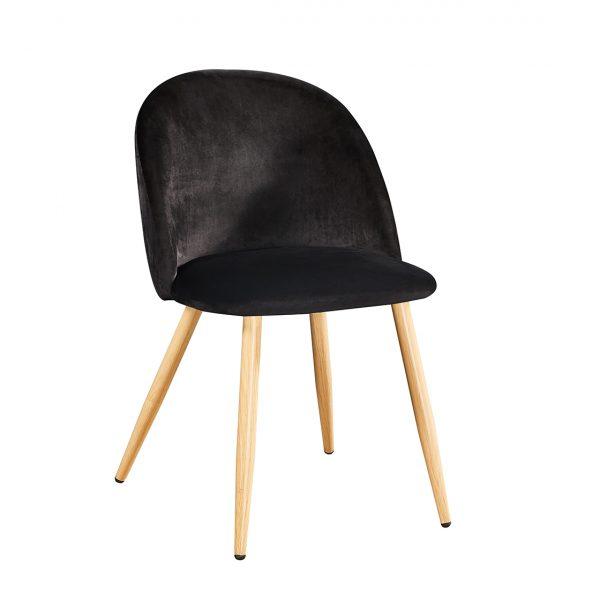 Venice Dining Chairs Black (PK 2)
