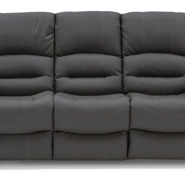Barletto 3 Seater Fixed - Grey  (Nett)