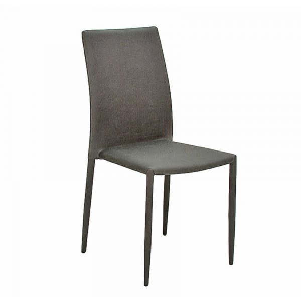 Enzo Dining Chair - Dark Grey