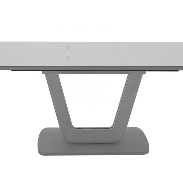 Lazzaro Dining Table Ext - Light Grey Matt 1200/1600 (Nett)