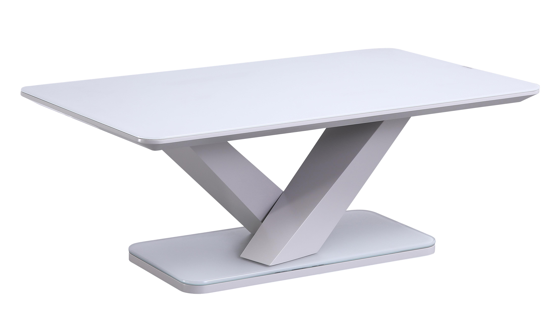 Rafael Coffee Table - Light Grey Matt (Nett)