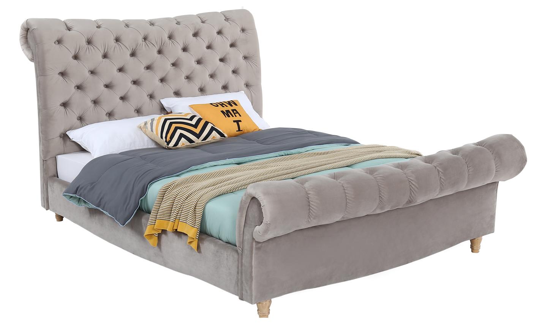 Sloane Bed - 6' Subtle Mink