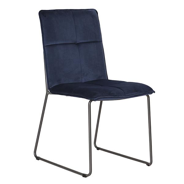 Soren Dining Chair - Blue (4/Box)