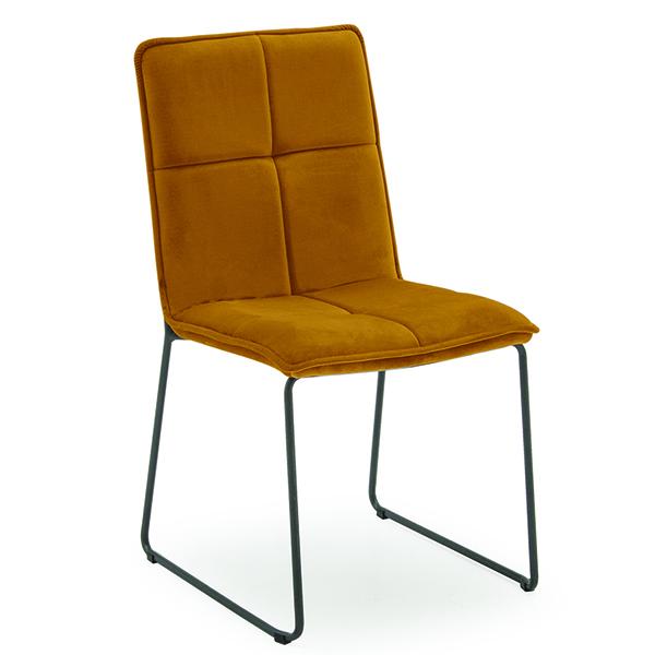 Soren Dining Chair - Mustard (4/Box)