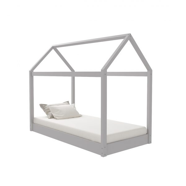 Hickory 3.0 Single Bed Grey